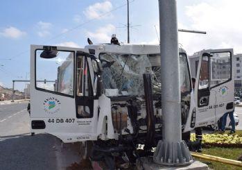 Malatya'da kaza: 9 kişiden 3'ü ağır yaralı!
