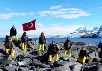 Türk ekibi Antarktika'dan döndü