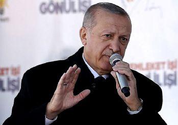 Erdoğan Diyarbakır'da konuştu: Kürtlere zulmeden PKK'dır!