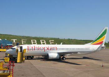 Etiyopya'ya ait uçak düştü! Kurtulan yok