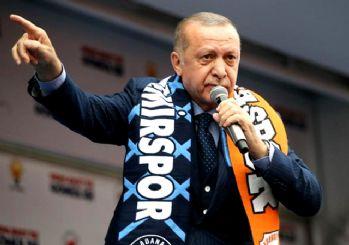 Erdoğan'dan CHP ve HDP'ye tepki: Bunlar ezan düşmanı!