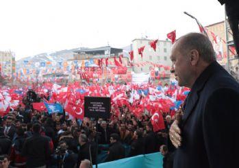 Erdoğan Hakkari'de: HDP'yi yönetenlere terörist diyorum