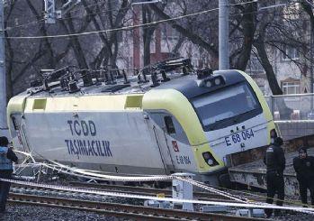 Akaryakıt taşıyan tren raydan çıktı!