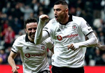 Beşiktaş zirve yarışını 'Burak'madı! 1-0