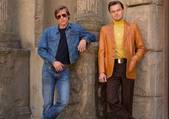 Brad Pitt ve DiCaprio'lu Tarantino filminden yeni poster geldi