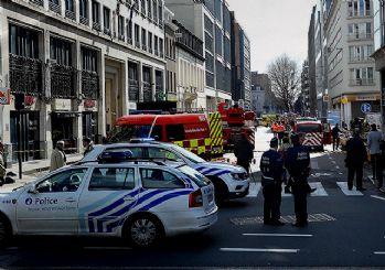Brüksel'de bomba paniği! 40 kişi tahliye edildi