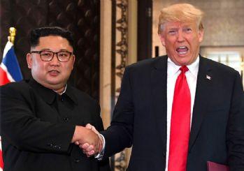 Trump: Kuzey Kore yaptırımlarını geri çekiyorum!