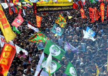 Bakırköy'deki Nevruz kutlamalarında PKK propagandası