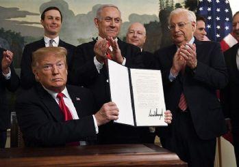 Suriye'den Trump'ın Golan kararına tepki