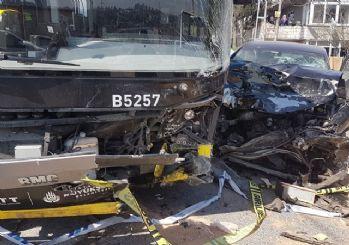 Başakşehir'de korkunç kaza: 1 ölü 8 yaralı