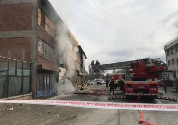 Ankara'da korkunç yangın: 5 ölü 11 yaralı