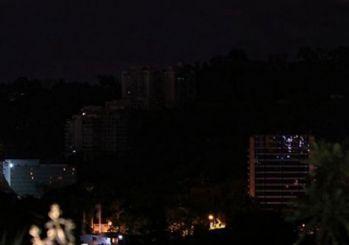 Venezuela'da yine elektrikler gitti