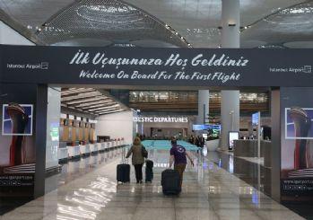 İstanbul Havalimanı'ndan ilk uçuş gerçekleşti