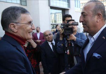 Mevlüt Çavuşoğlu ve Aziz Sancar buluştu!