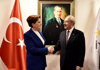 Kılıçdaroğlu'ndan Akşener'e ziyaret!