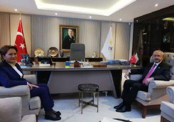 Kılıçdaroğlu'ndan ve Akşener'den görüşme sonrası açıklamalar!