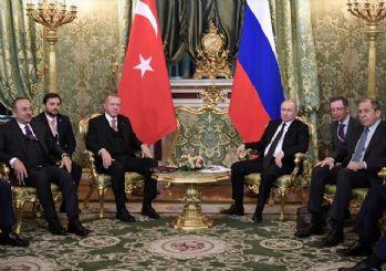 Erdoğan: Türkiye'de yatırım yapmak isteyen Rus firmalarına...