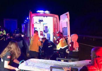 Düzce'de korkunç kaza: 5 kişi öldü 6 kişi yaralandı