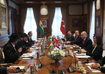 Bolivya Devlet Başkanı ve Erdoğan'dan ortak basın açıklaması