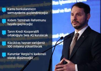 Albayrak ekonomideki reformları açıkladı!