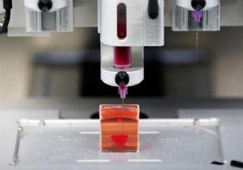 3 boyutlu yazıcıda ilk kez kalp üretildi