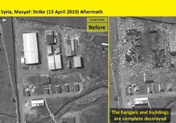 İsrail, süpersonik Rampage füzesini Suriye'de ilk kez kullandı