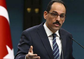 İbrahim Kalın: Güvenli bölge Türkiye kontrolünde olmalı