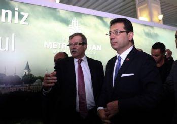 İmamoğlu, Cumhurbaşkanı Erdoğan'ı havalimanında karşıladı