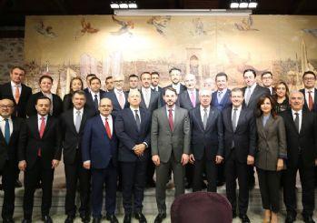 Albayrak, bankacılık sektör temsilcileri ile buluştu