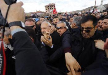 Kılıçdaroğlu'na saldırı anları!