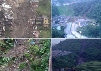 Kolombiya'da toprak kayması 17 can aldı