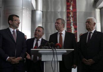 CHP'li başkanlar Ankara'da buluştu