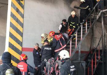 Bursa'da önce patlama sonra yangın: 5 kişi yaralandı