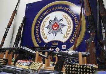 Kaçak silah atölyesine baskın: 23 gözaltı kararı