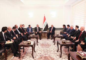 Dışişleri Bakanı Çavuşoğlu Irak Başbakanı ile görüştü