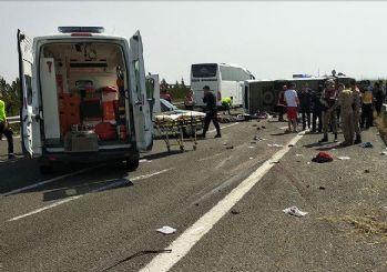 1 Mayıs kutlaması yolunda kaza: 5 kişi hayatını kaybetti