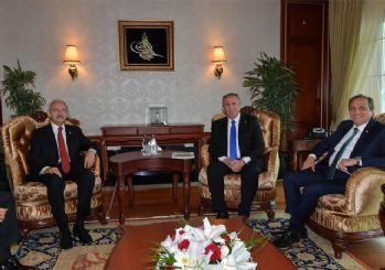 Kılıçdaroğlu'ndan Mansur Yavaş'a tebrik ziyareti