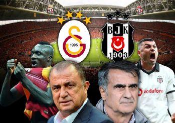 Galatasaray Beşiktaş maçının ilk 11'leri!
