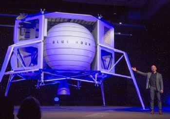 Jeff Bezos Ay'a araç gönderecek!