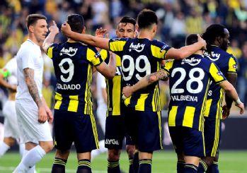 Fenerbahçe kazandı Akhisarspor küme düştü