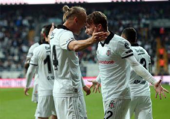 Beşiktaş sahasında Alanyaspor'u yendi