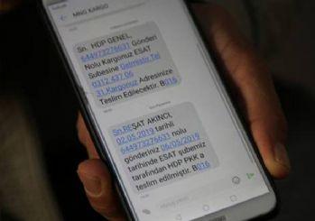 MNG Kargo 'HDPKK' mesajı atınca ortalık karıştı