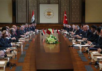Erdoğan: Irak ile askeri işbirliği ve güven anlaşması yapılmasına karar verdik