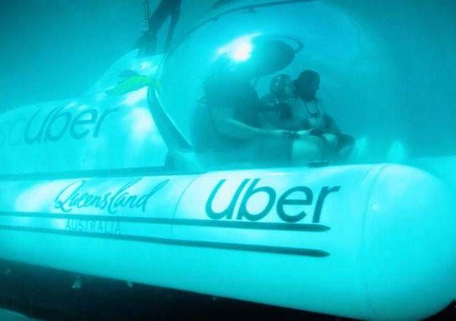 Uber duyurdu: Dünyanın ilk denizaltı taksisi!