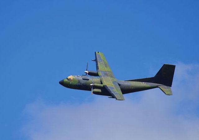 Hint askeri uçağı kayboldu