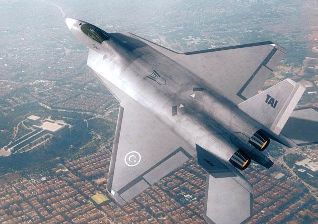 İlk yerli savaş uçağı modeli tanıtıldı!