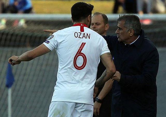 Şenol Güneş'ten Ozan Tufan'a: Milli takımın kaptanı olacaksın!