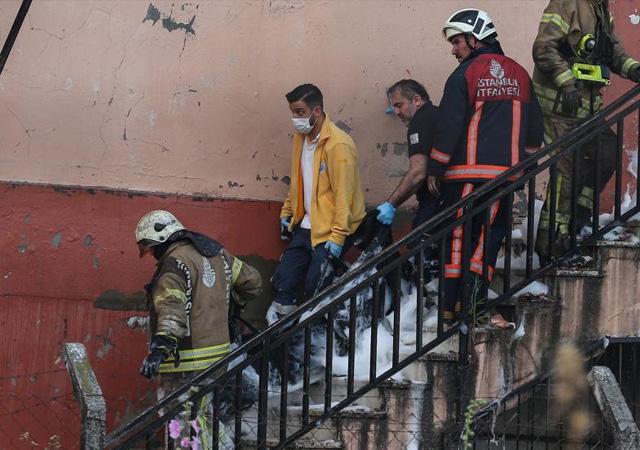 İstanbul'da fabrika yangını: 4 yabancı uyruklu işçi yaşamını yitirdi