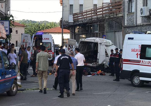 Edirne'de katliam gibi kaza: 10 ölü!