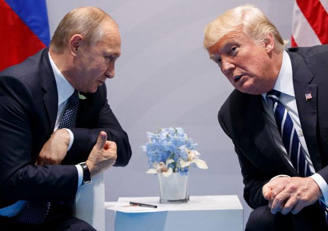 Trump ve Putin G-20'de görüştü!